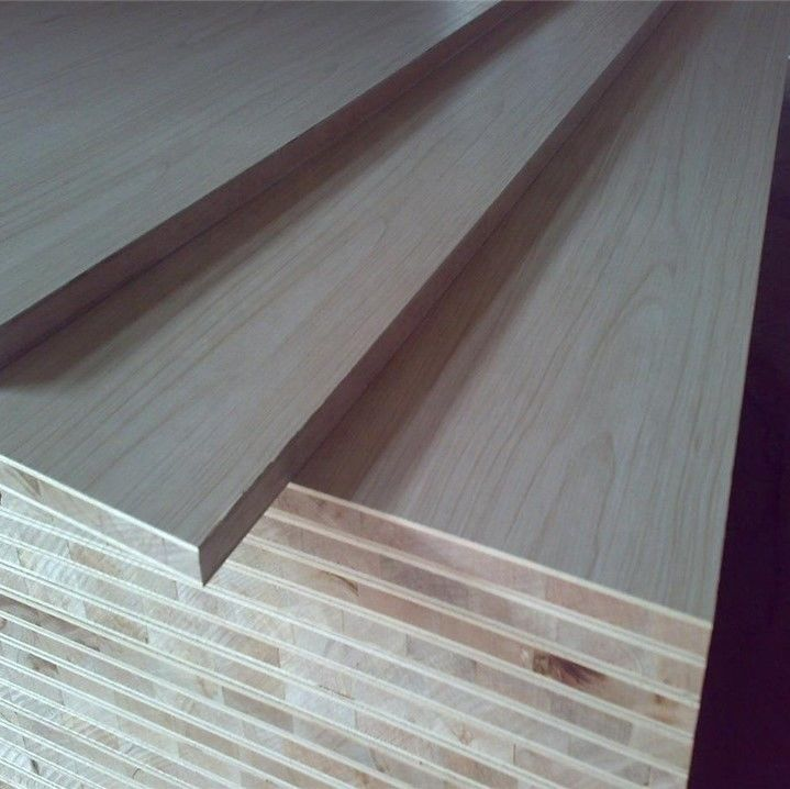 Interior Decoration Block Board Sheets , WBP Hardwood Block Board 18mm