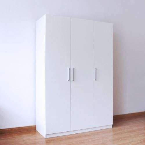 Laminated Particle Wood Storage Cabinets With Doors And Shelves Customized Size