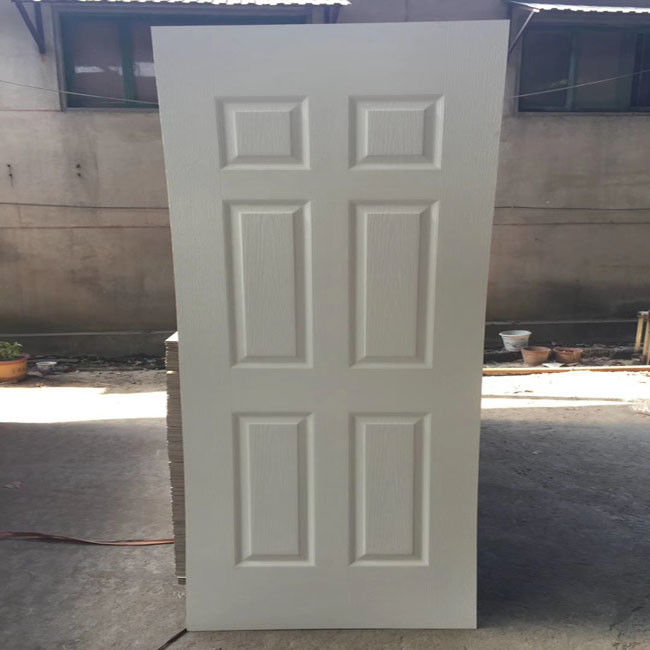 3mm White Primer Finish Faced MDF Door Skin Design With 2150*900mm Size