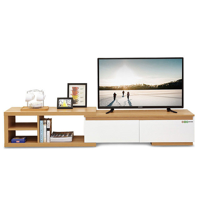 Melamine Particle Board TV Stand Wooden Tv Furniture Color Chinese Style